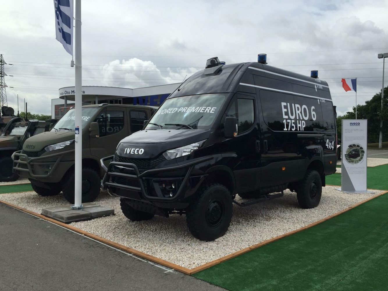 Iveco 4×4 camping car