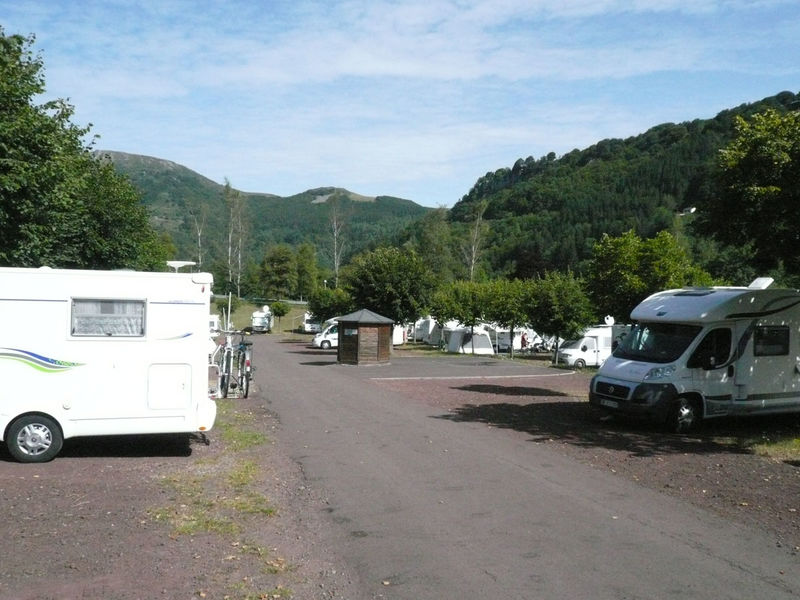 Aire camping car mont dore
