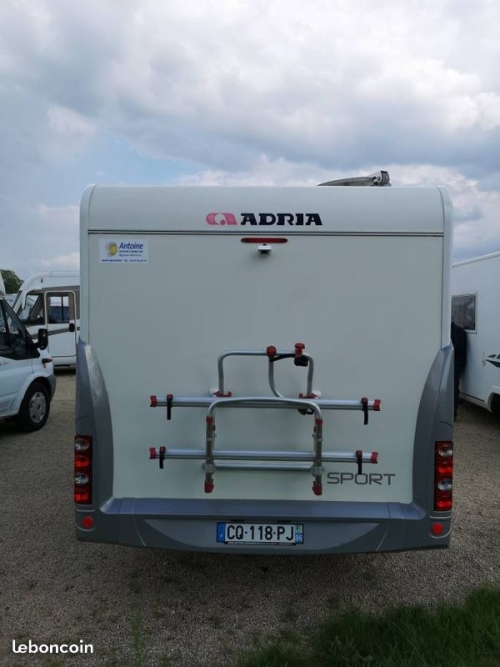 Vienne evasion camping car occasion