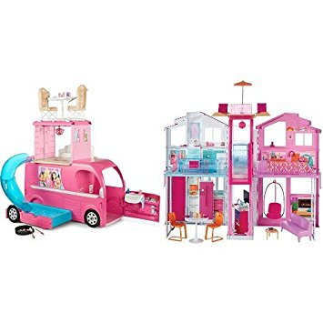Barbie camping car duplex