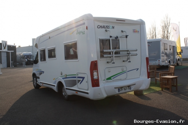 Camping car occasion bourges evasion