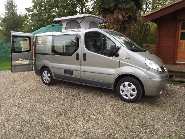 Trafic renault camping car occasion
