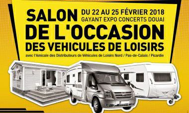 Salon occasion camping car douai