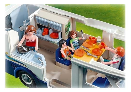 Camping car playmobil camping car love