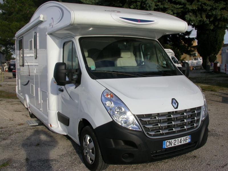 Camping car occasion profile lit central