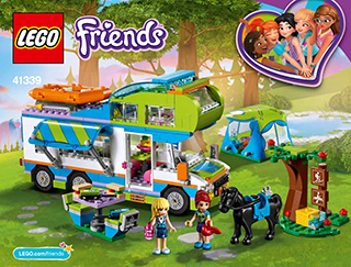 Camping car lego friends