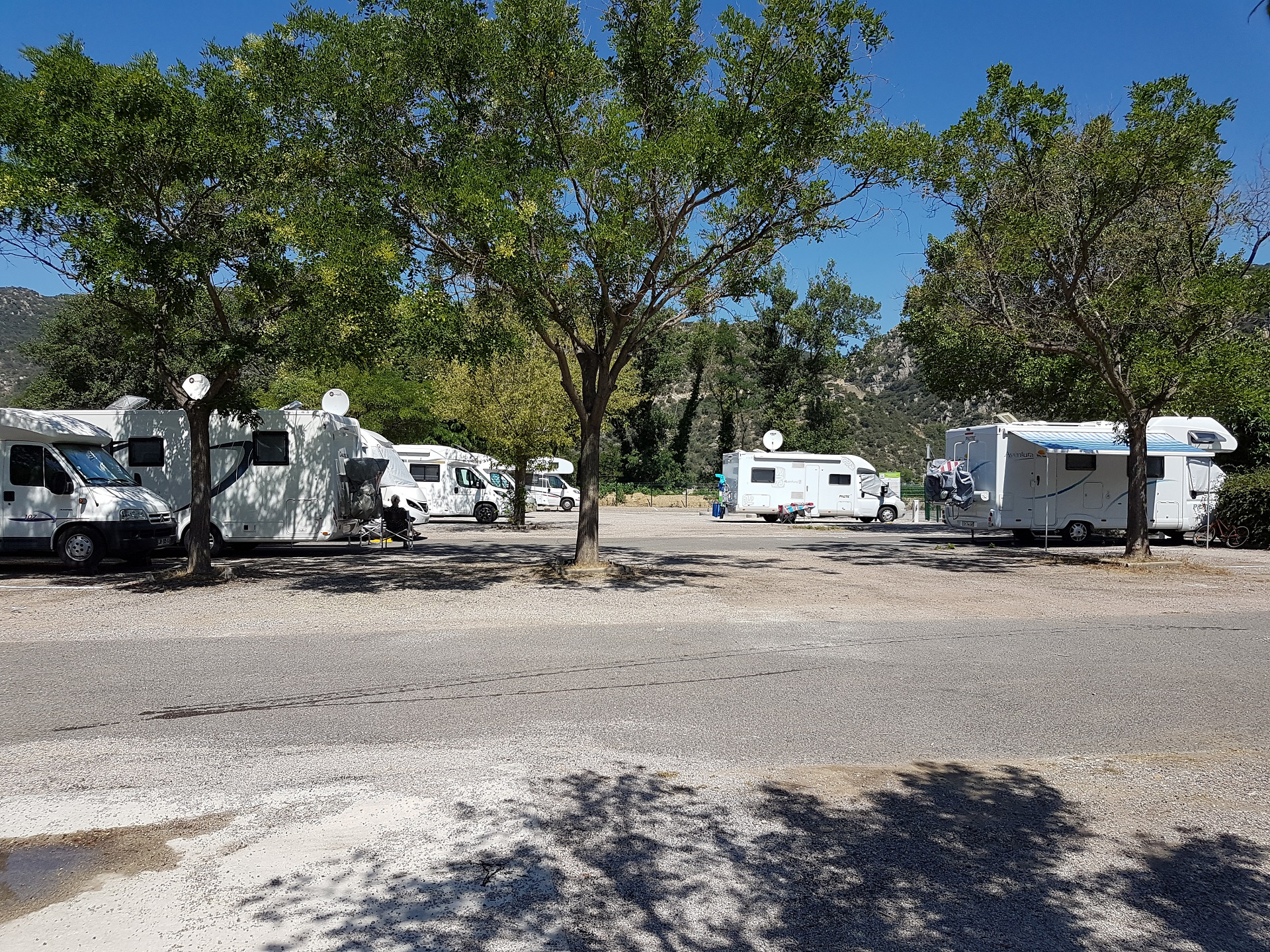 Aire camping car herault