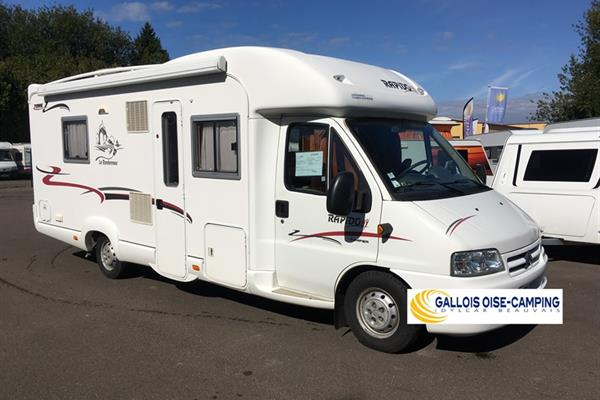 Camping car rapido lits jumeaux occasion