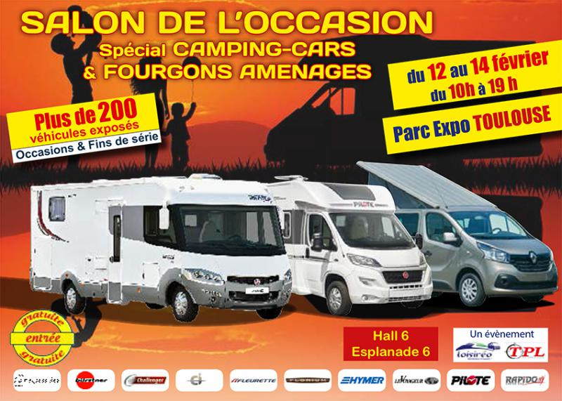 Salon camping car occasion 2016
