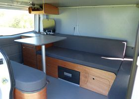 Amenagement camping car trafic