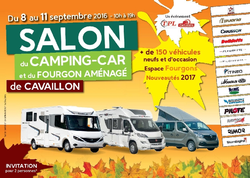 Salon du camping car d occasion 2014