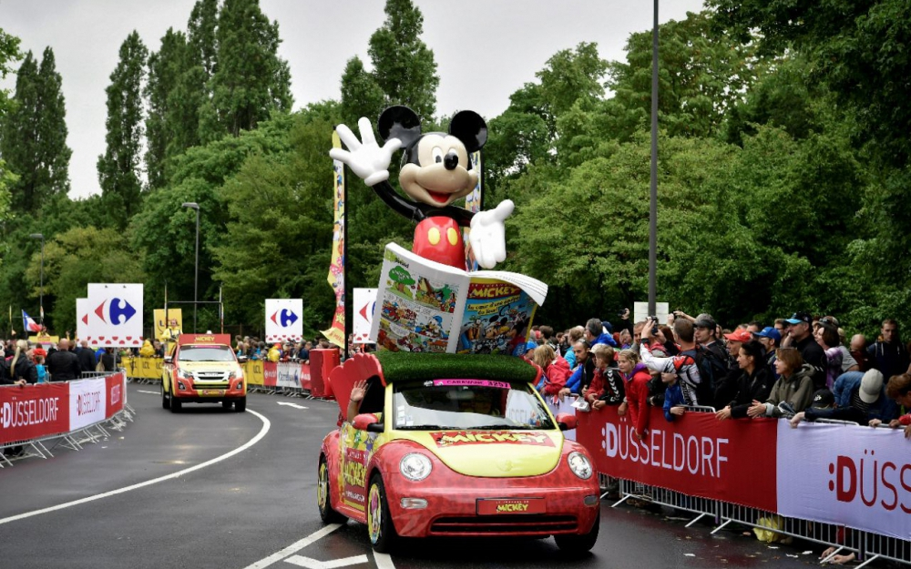 Caravane du tour de france 2016 recrutement