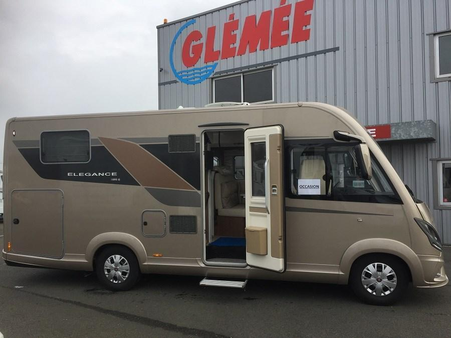 Camping car occasion glemee