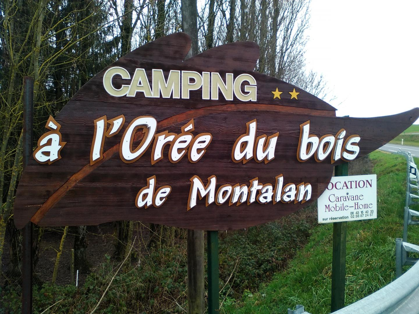 Camping mobilhome loiret