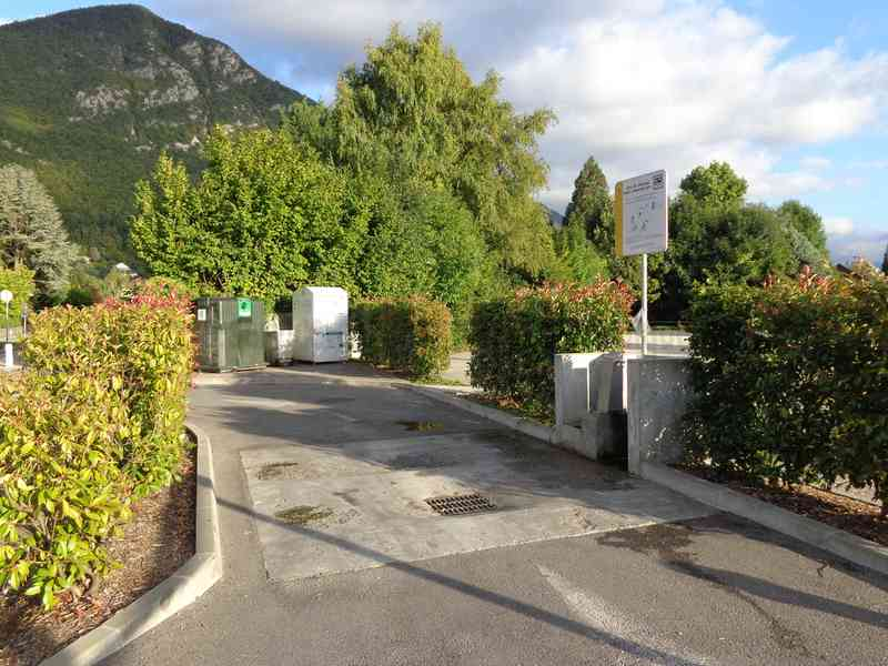 Aire camping car annecy