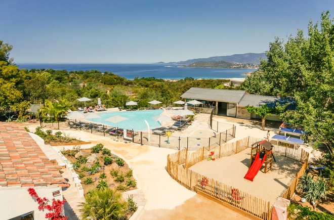 Camping corse côte ouest