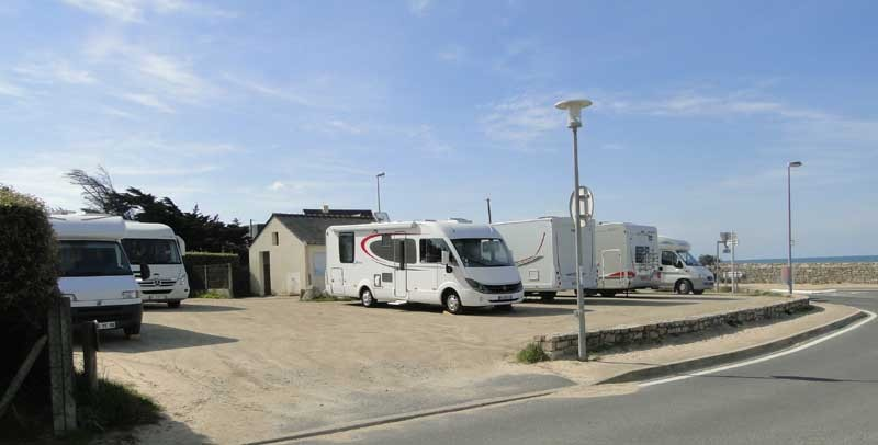 Aire camping car sarzeau