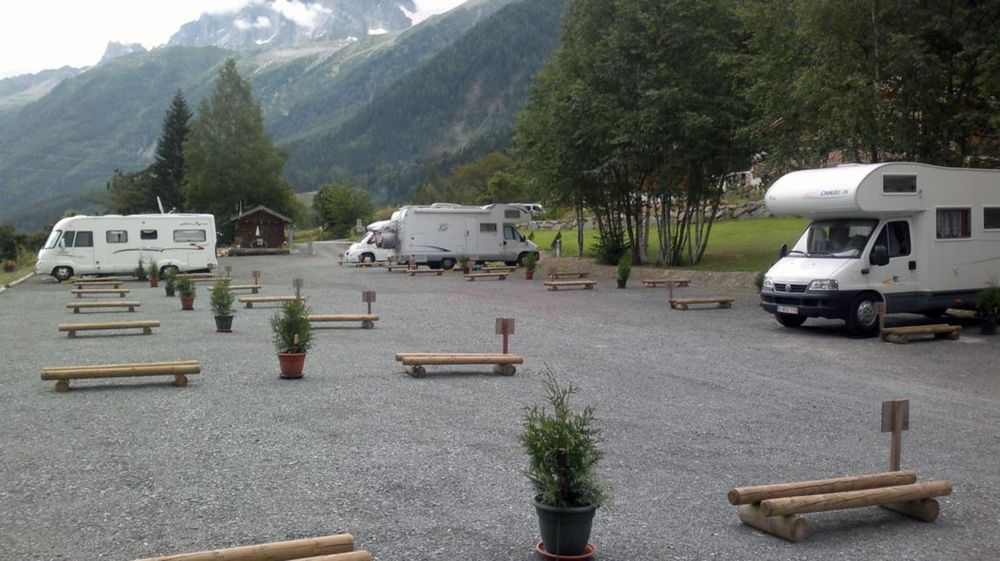 Aire de camping car annecy