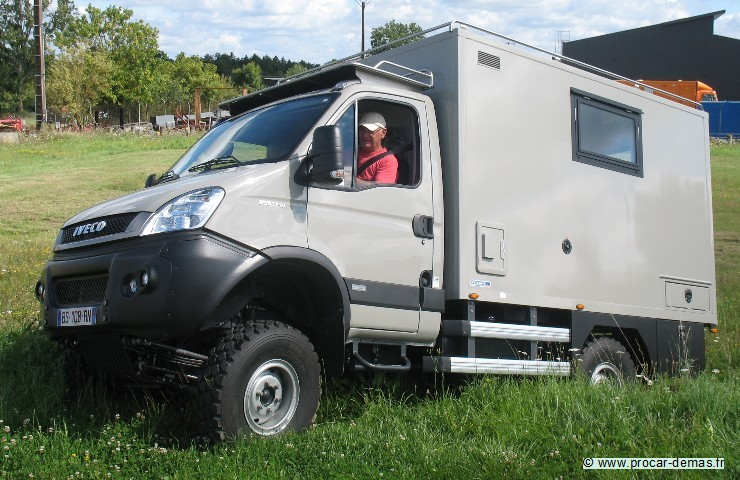 Fourgon camping car 4×4 occasion
