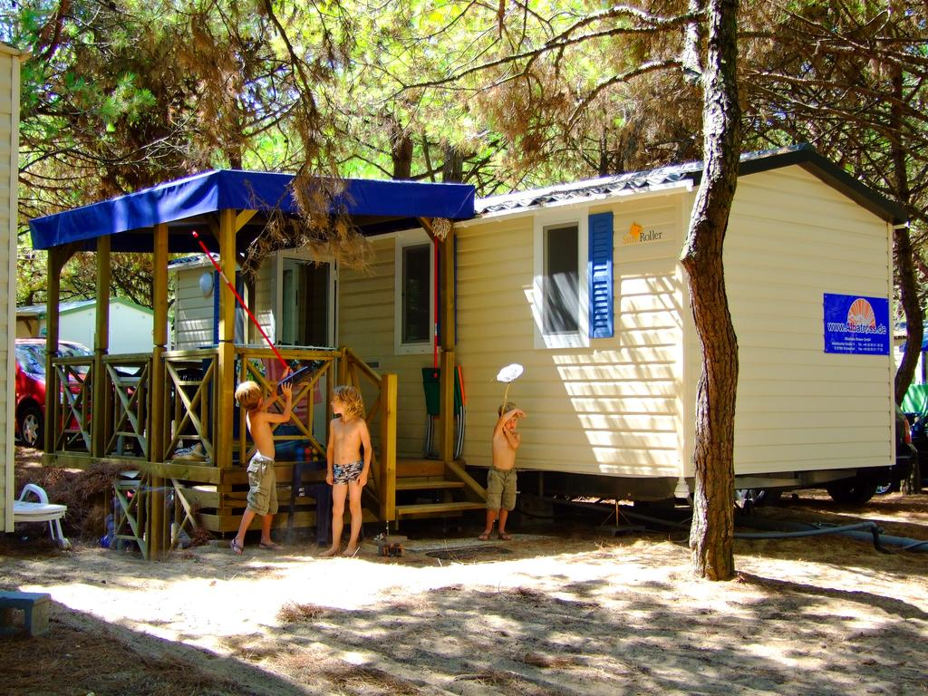 Camping mobilhome italien