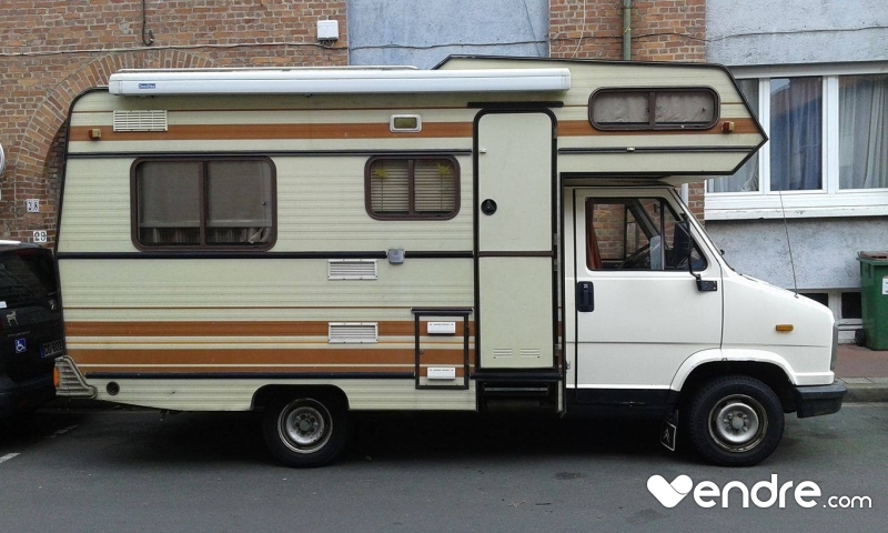 Camping car gpl occasion