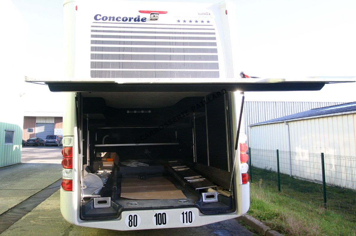 Concorde camping car occasion