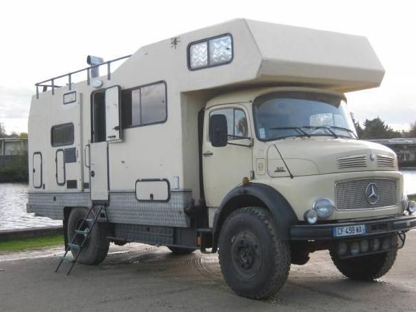 Camping-car 4 x 4 occasion