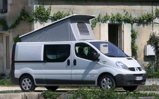 Renault trafic amenage camping-car occasion