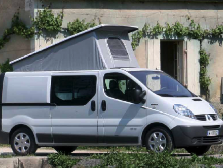 Camping car renault occasion