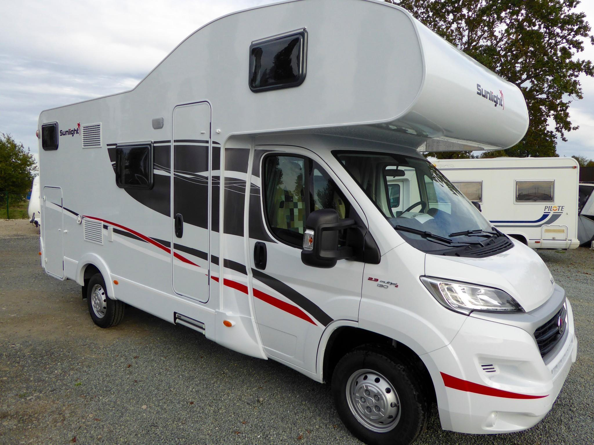 Camping car occasion en vendee
