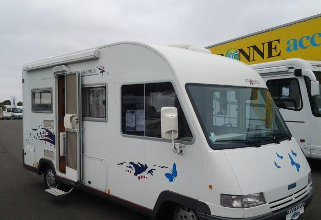 Camping car occasion 35000 euros