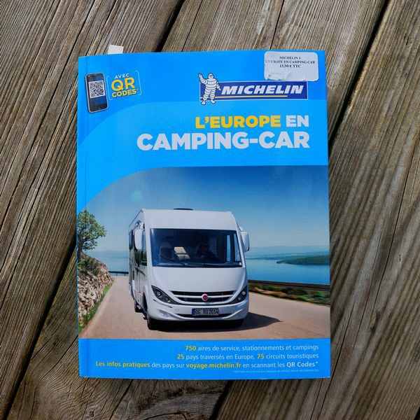 Michelin itineraire camping car
