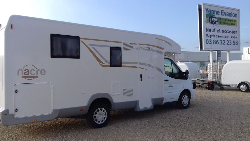 Camping car occasion nievre