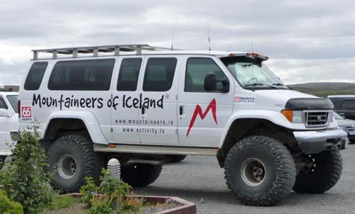 Location camping car islande