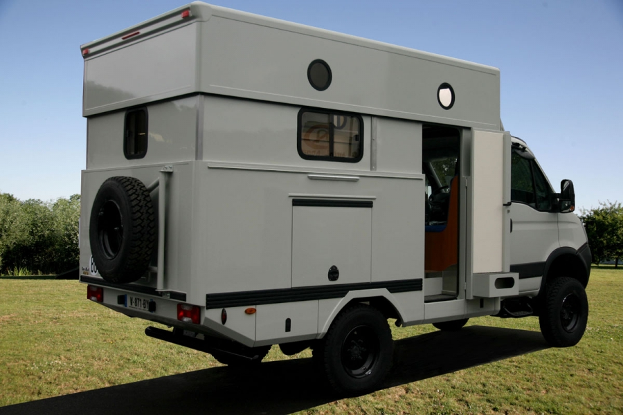 Camion 4×4 occasion camping car