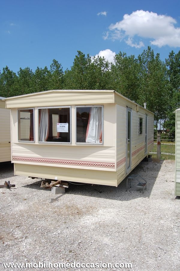 Mobil home occasion gironde camping