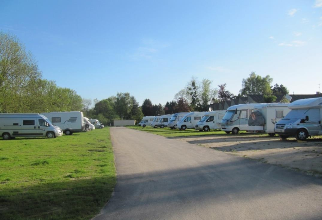 Aire camping car amiens