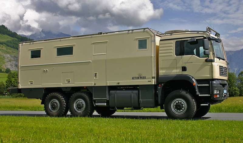 Camping-car poids lourd 4×4 occasion