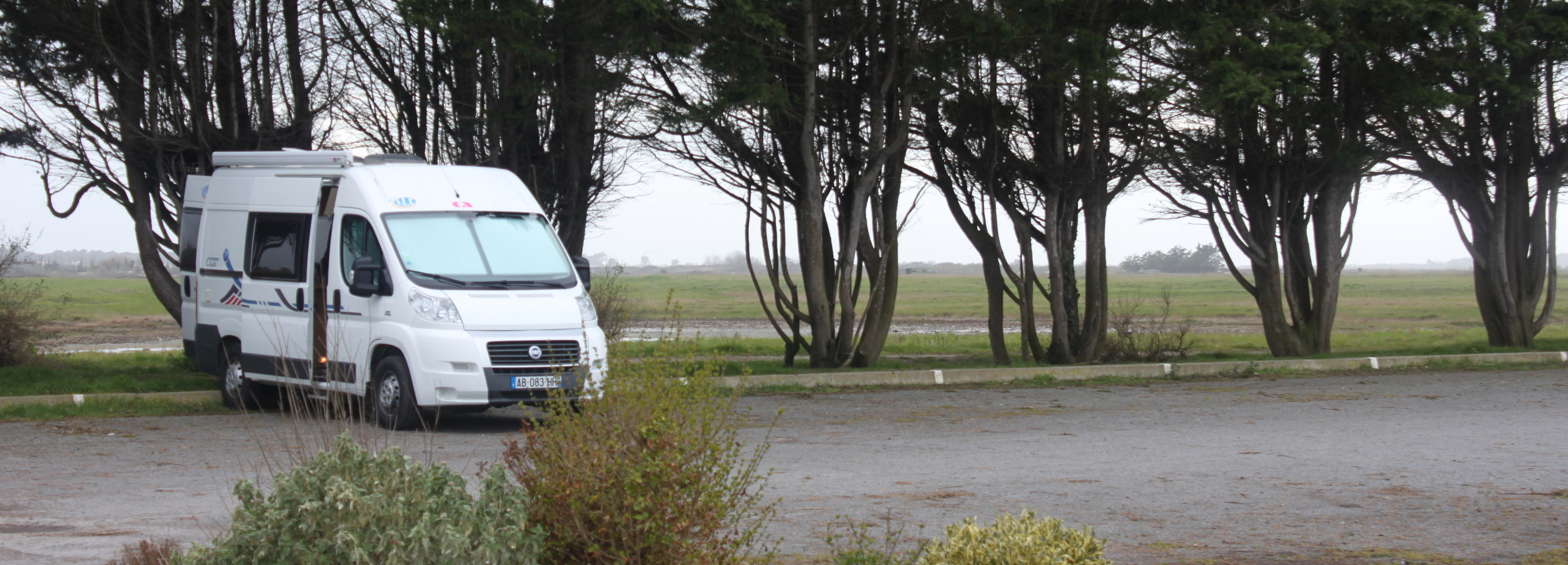 Aire de camping car l'herbaudiere