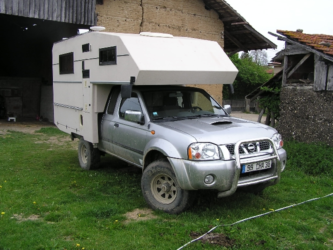 Camping car pick up occasion