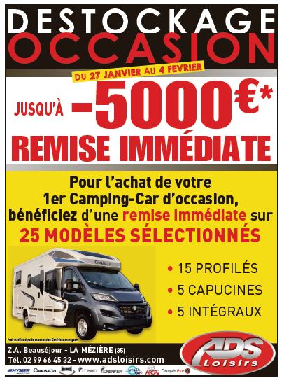 Camping car occasion st malo