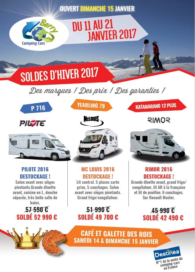 Camping car chateauroux