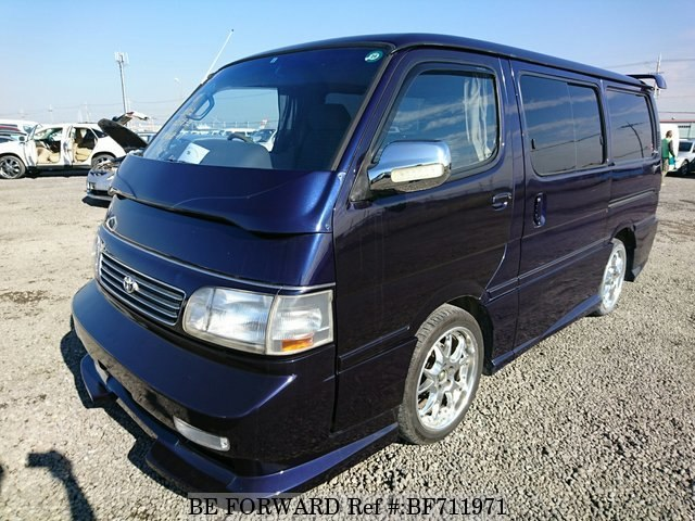 Camping car toyota hiace occasion