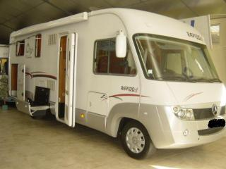 Camping car rapido intégral occasion