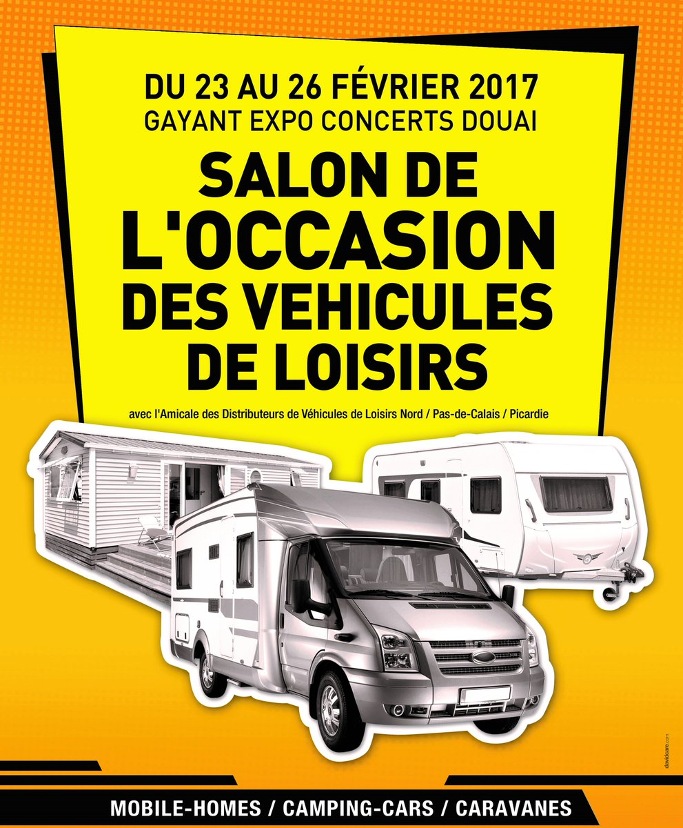 Salon camping car occasion douai 2017