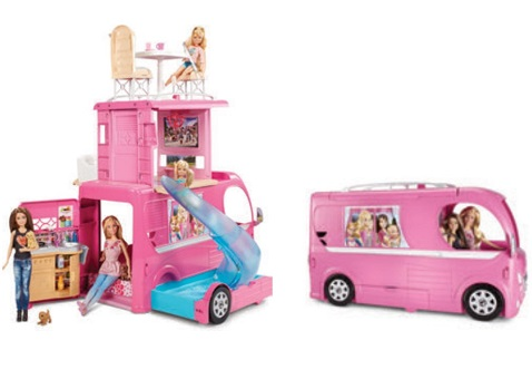 Camping-car barbie
