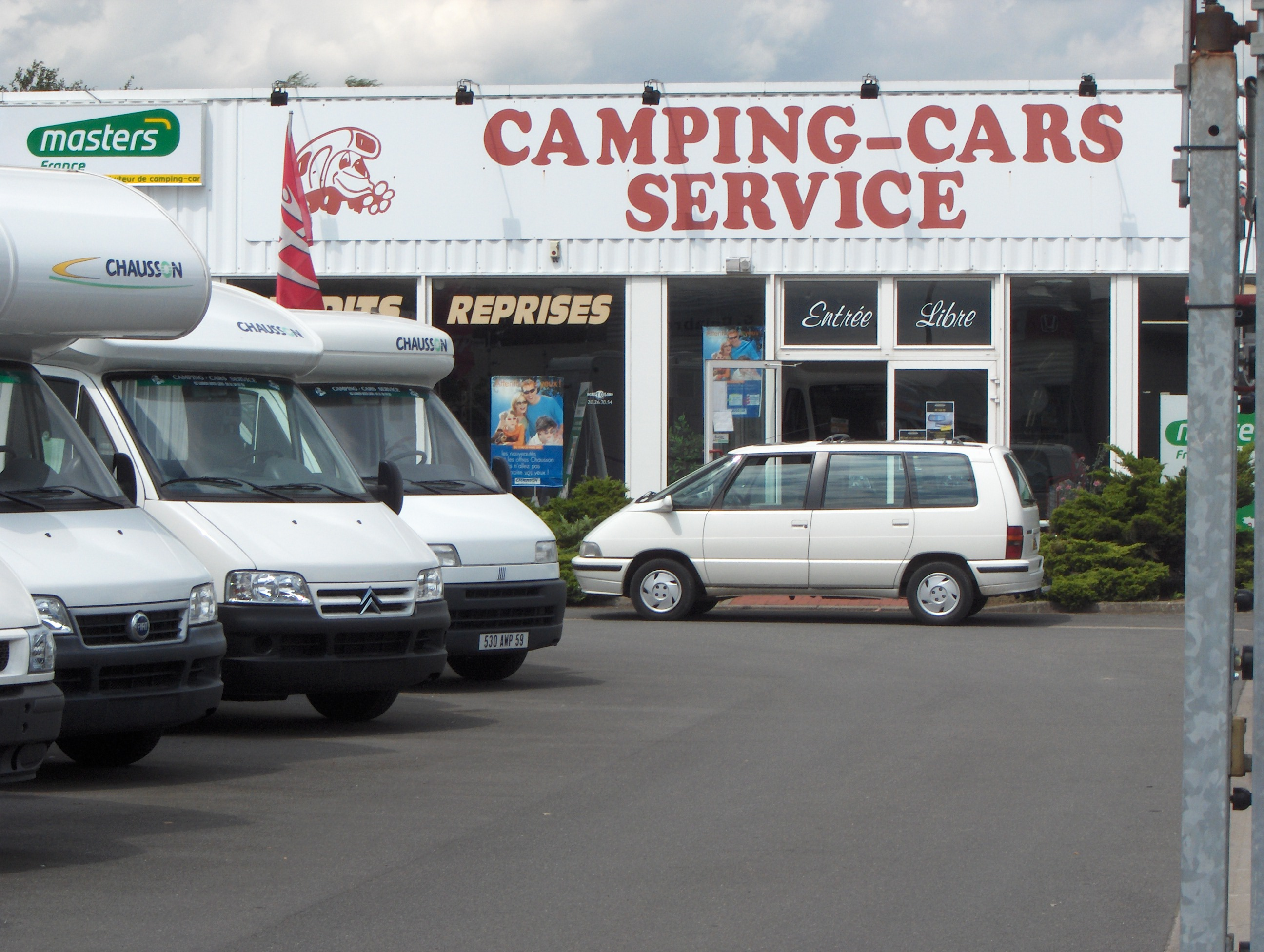 Location camping car lille