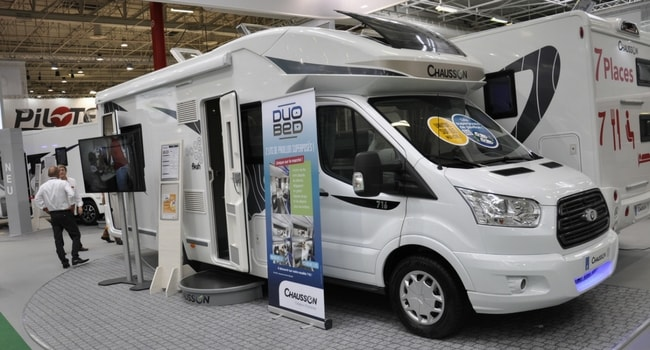 Salon du bourget camping car