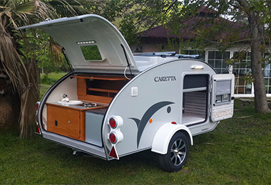 Mini caravane caretta occasion
