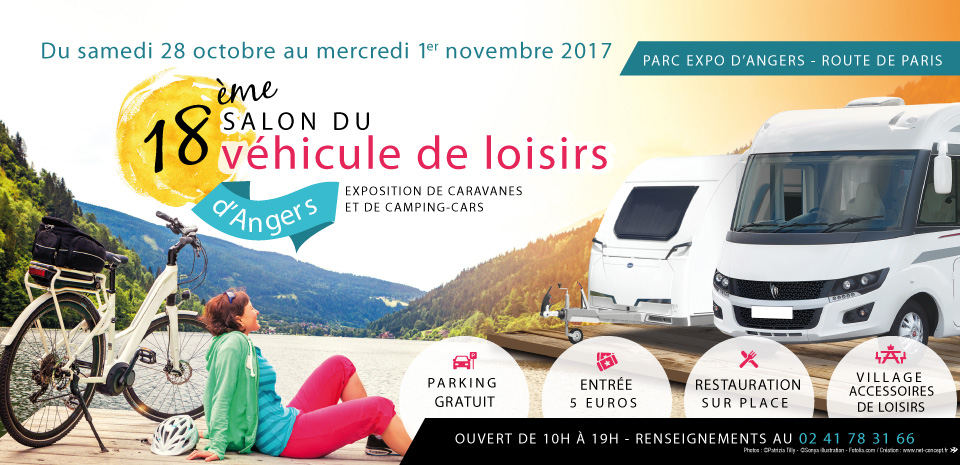 Salon camping car angers